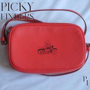 Coach Red Disney Limited Edition crossbody bag